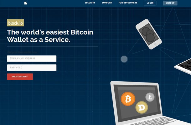 bitcoin api block homepage design