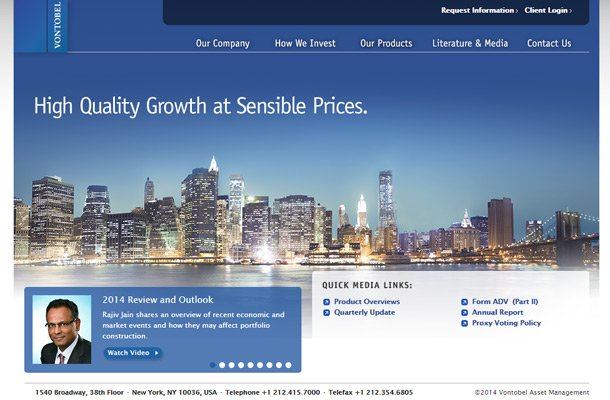 vontobel asset management homepage