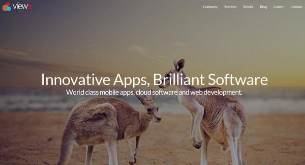 兼容并蓄!20个来自澳大利亚最优秀的网页设计