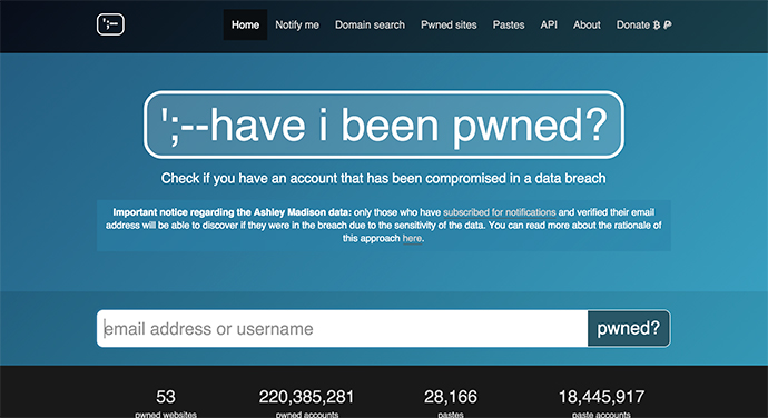 45-haveibeenpwned