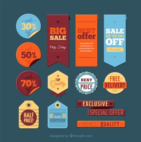 Big-sale-labels