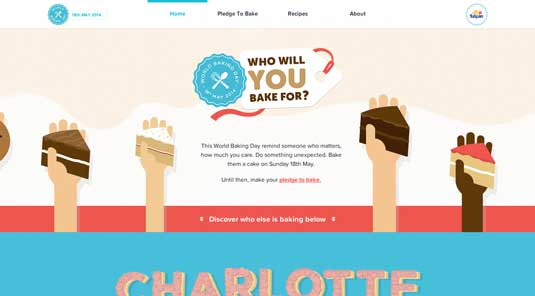 the World Baking Day site