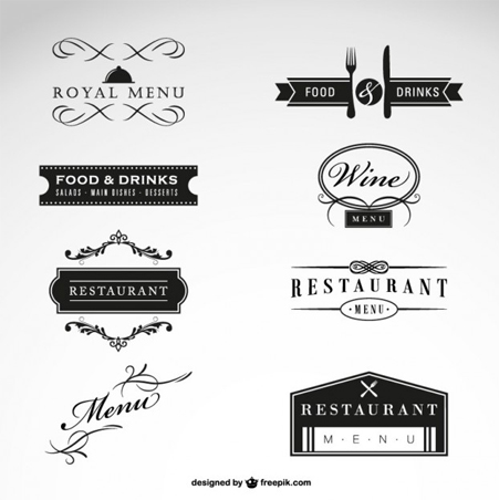 Restaurant-vector-free-collection