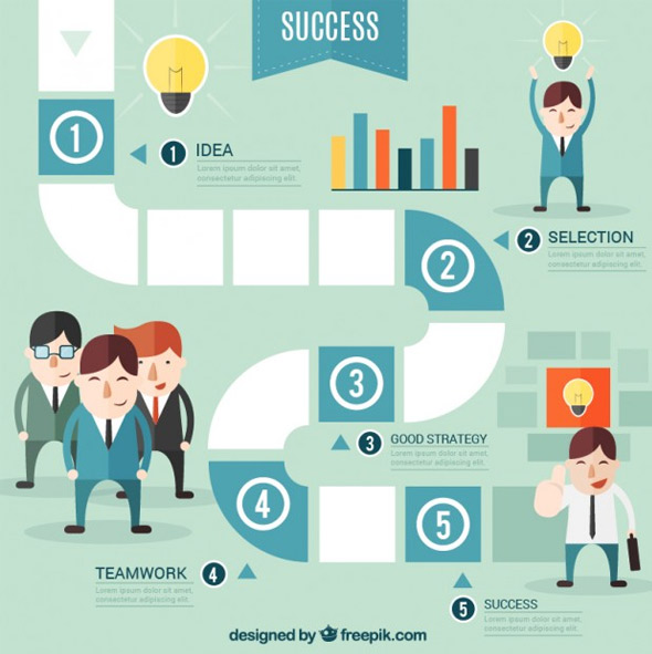 Successful-business-infographic