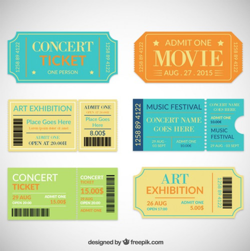 Theatre-ticket-collection