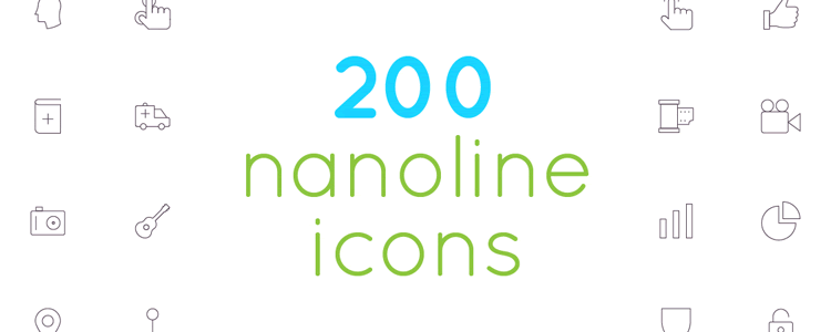 Nanoline Icon Set
