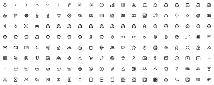 PrestaShop Icon Pack