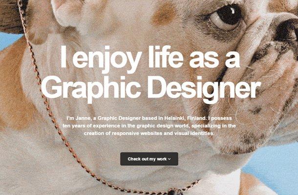 janne koivistoinen portfolio website design
