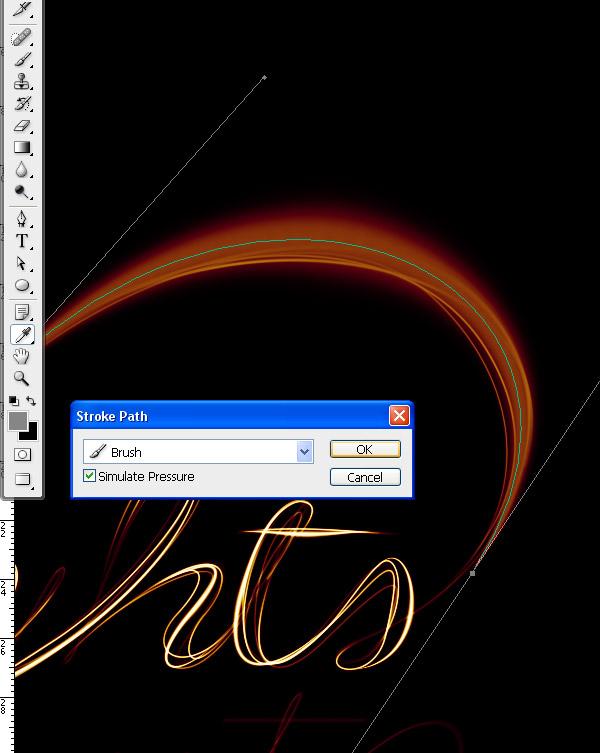 PS教程!手把手教你绘制闪耀的光斑文字字效