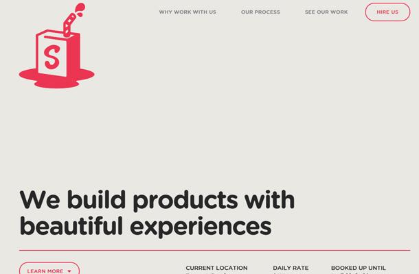 simple as milk creative studio website