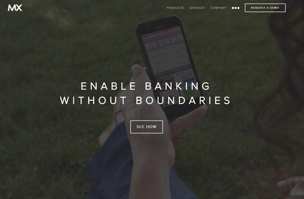 mx omnichannel banking technology website homepage