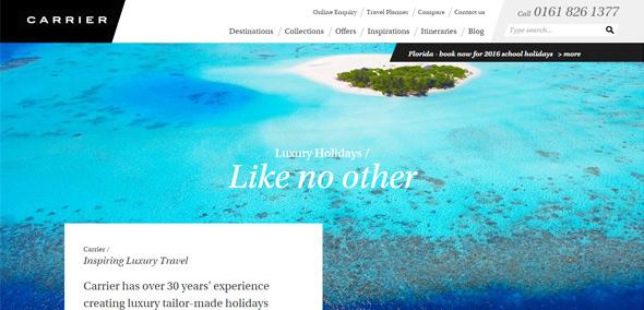 你认识几个?一组格调高雅气质不俗的知名奢侈品网站