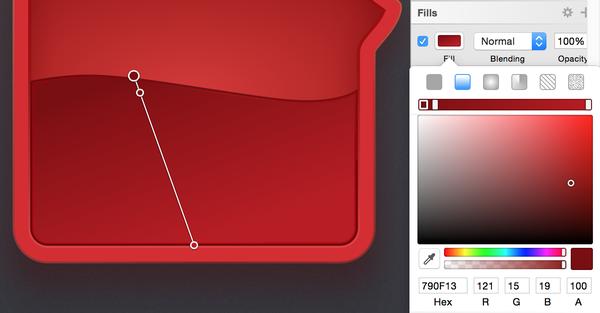 漂亮实力派!教你用Sketch绘制一枚精美的锤子论坛图标
