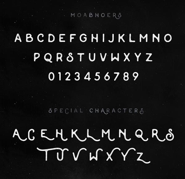 年关福利第二弹!特有范儿的英文字体免费打包下载
