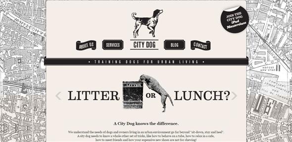 City-dog