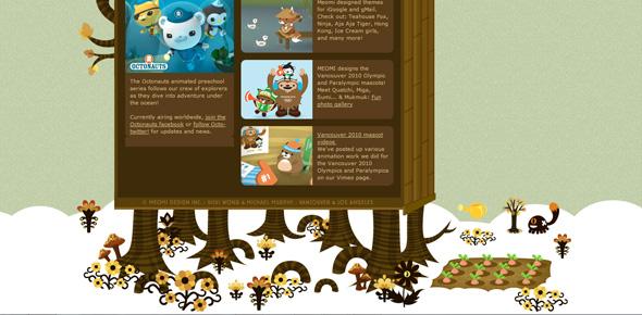 灵感驿站!14个创意冠绝的网站页脚设计