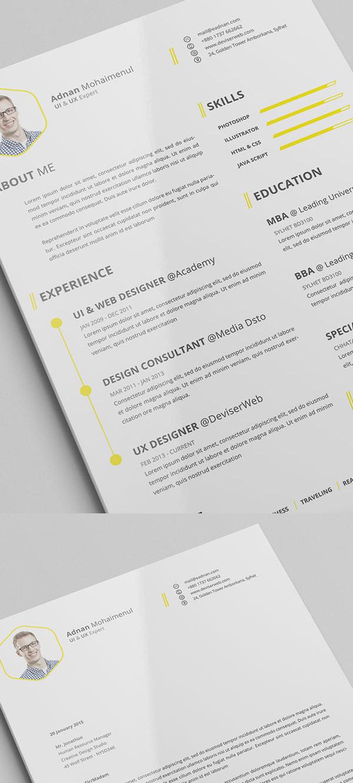 free_CV_Resume_psd_template_0