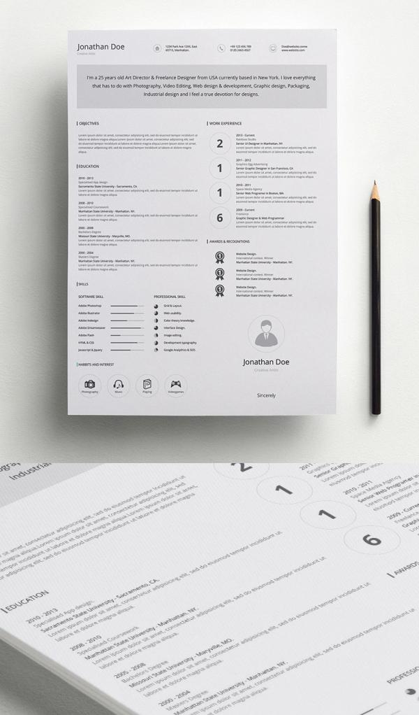 free_CV_Resume_psd_template_10