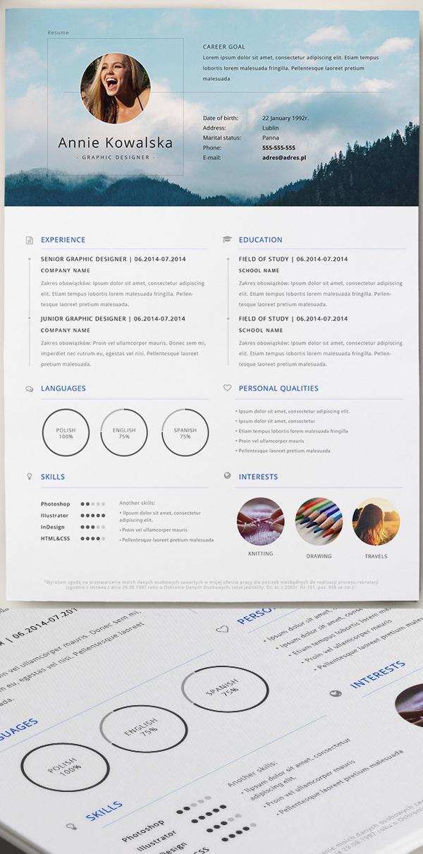 free_CV_Resume_psd_template_3