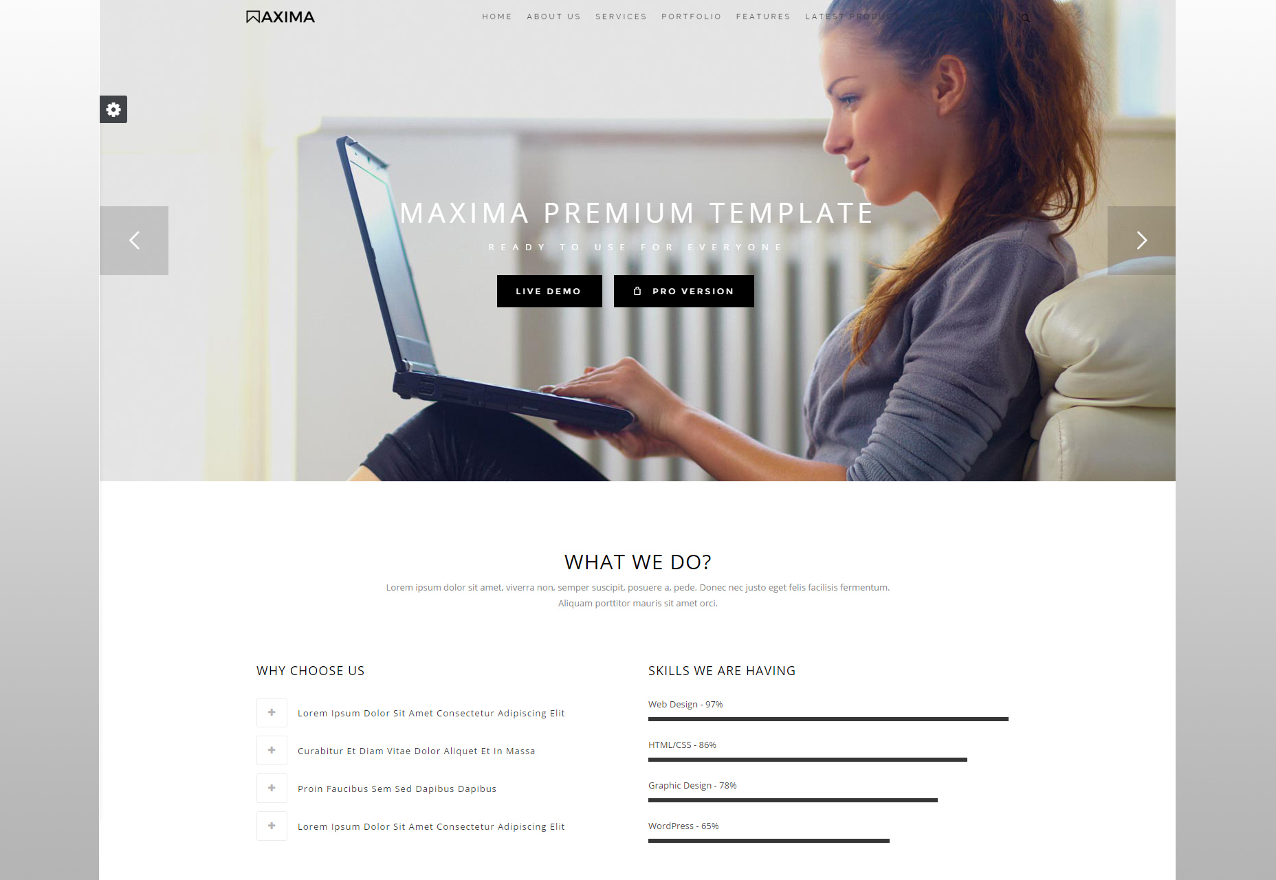 maxima-clean-bootstrap-business-template