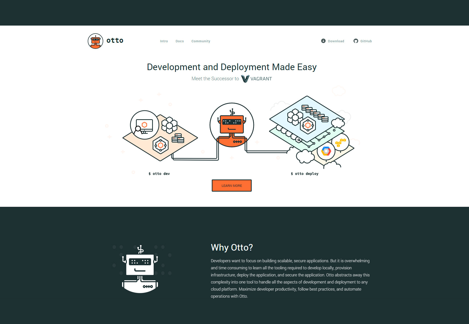 otto-web-app-development-deployment-environment