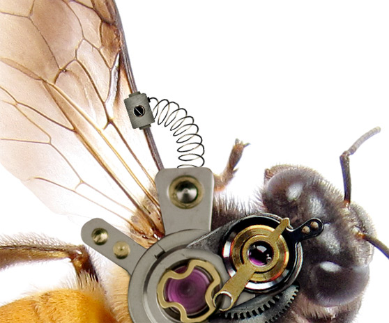 PS新手教程!手把手教你制作逼真的机械小蜜蜂