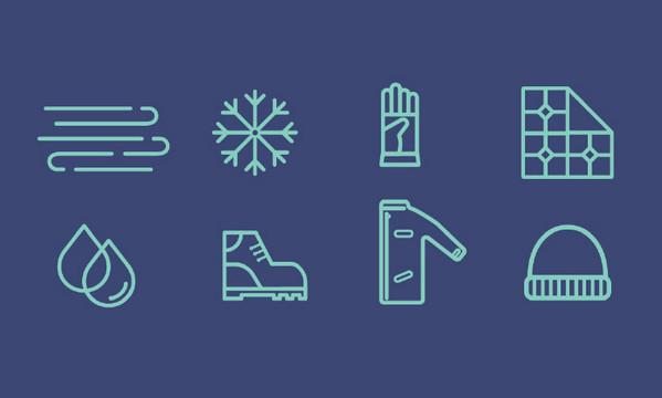 冬季限定!一组寒冬主题的免费图标素材合集