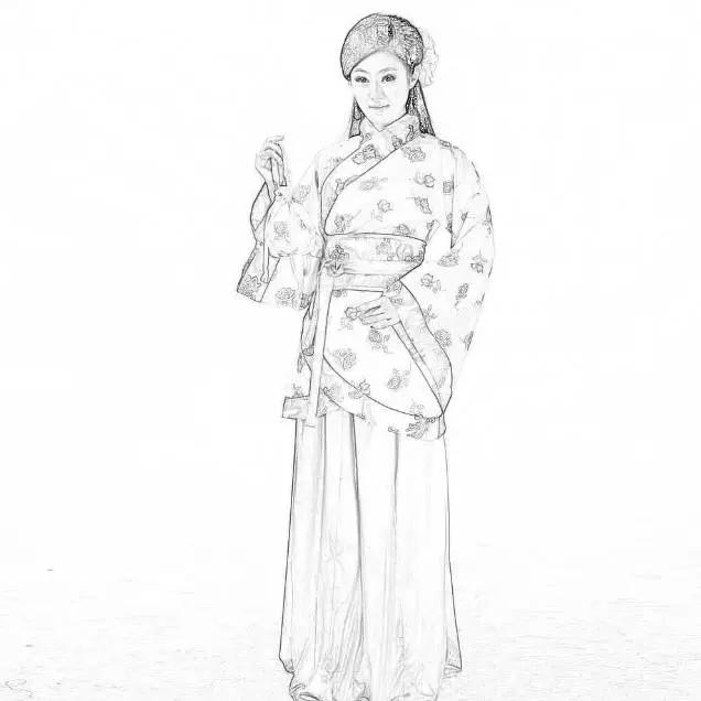 PS热门教程!手把手教你绘制超美的中国风工笔画效果