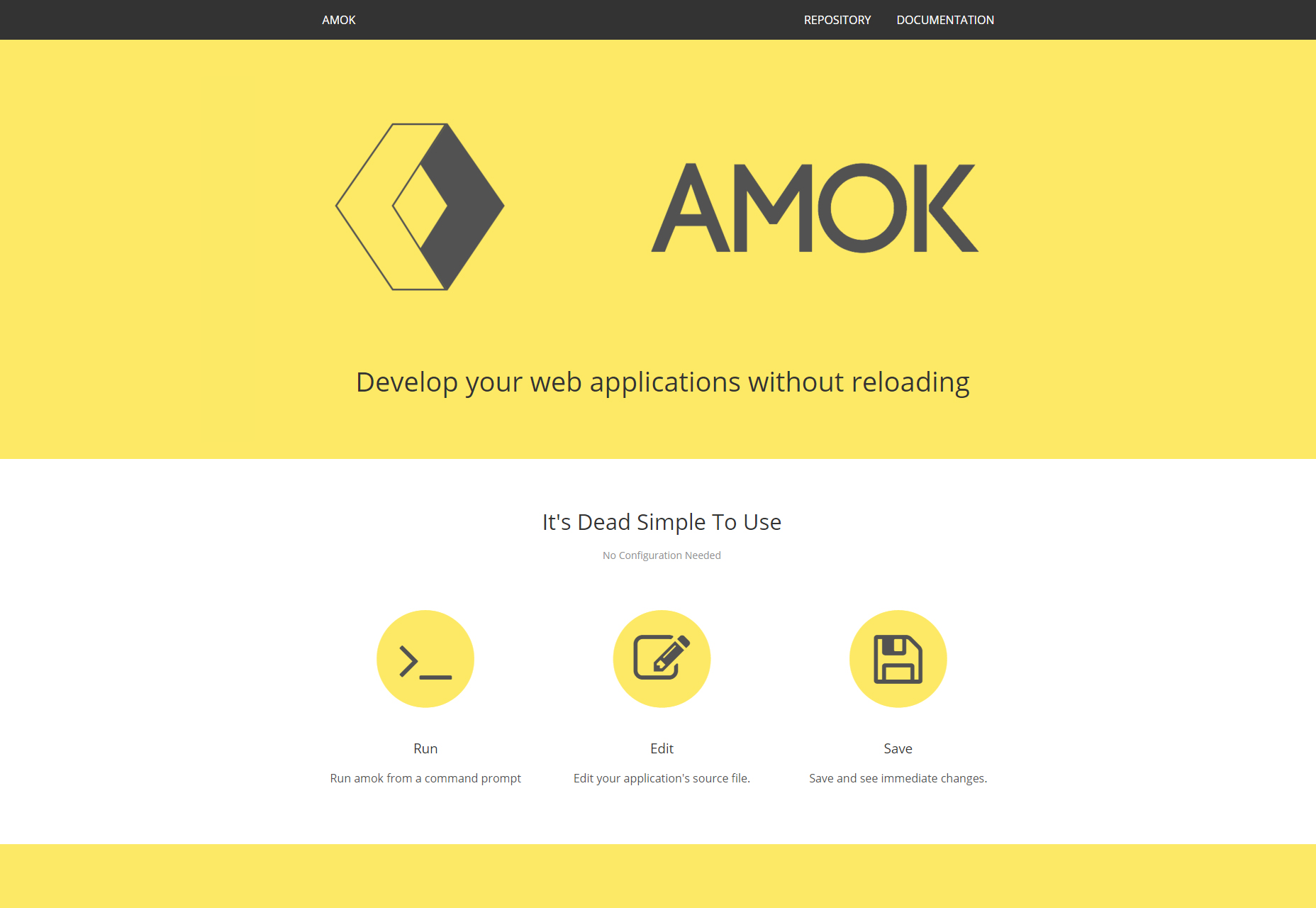 amok-develop-your-web-application-without-reloading