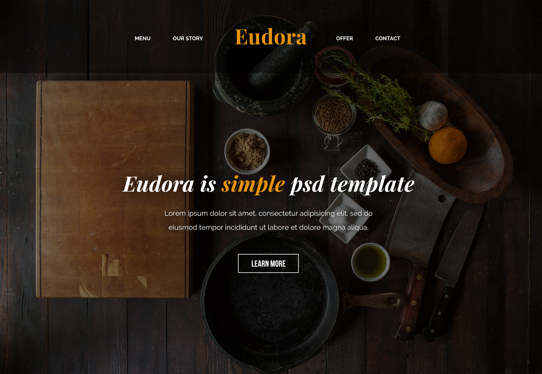 eudora-food-related-psd-web-template