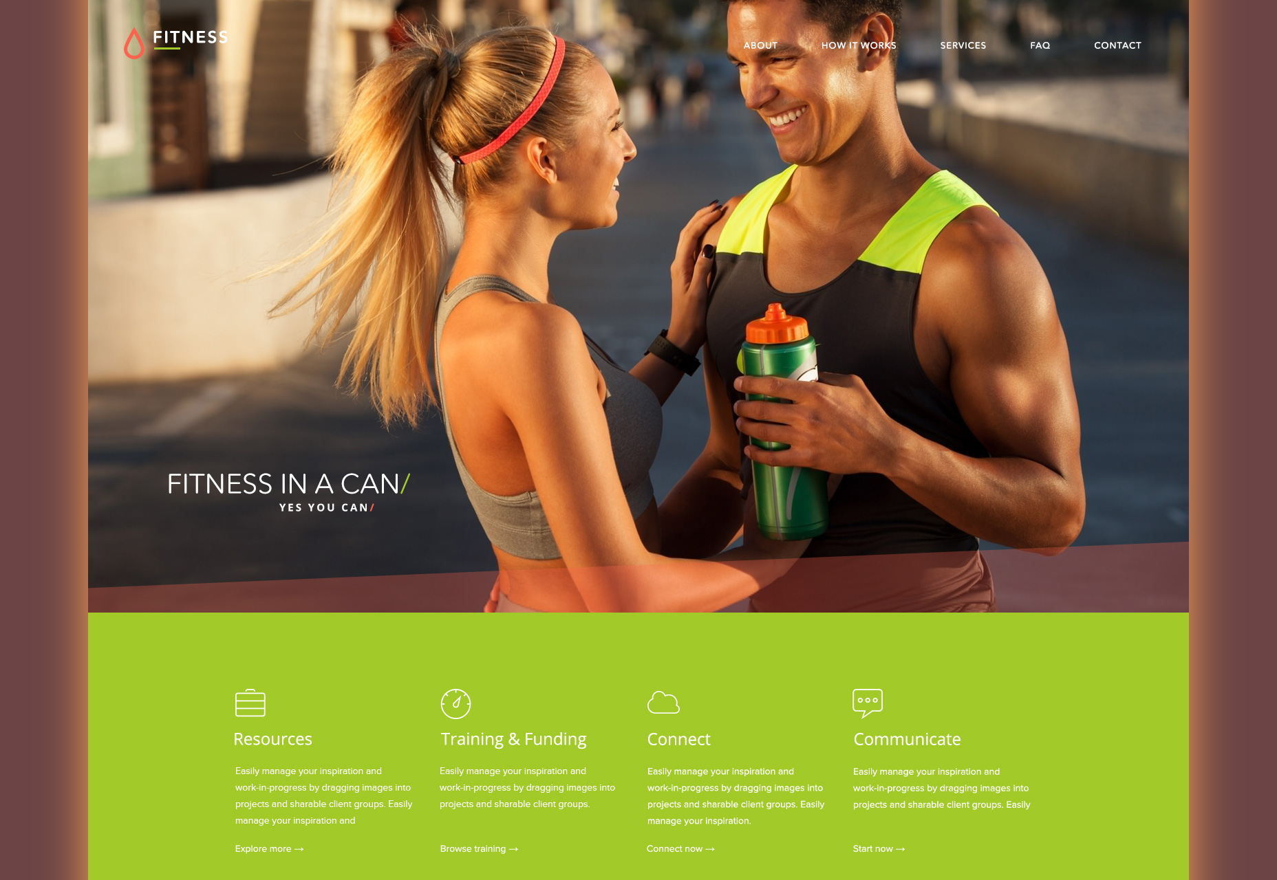 flat-fitness-psd-web-template