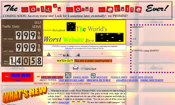 The World's Worst Website