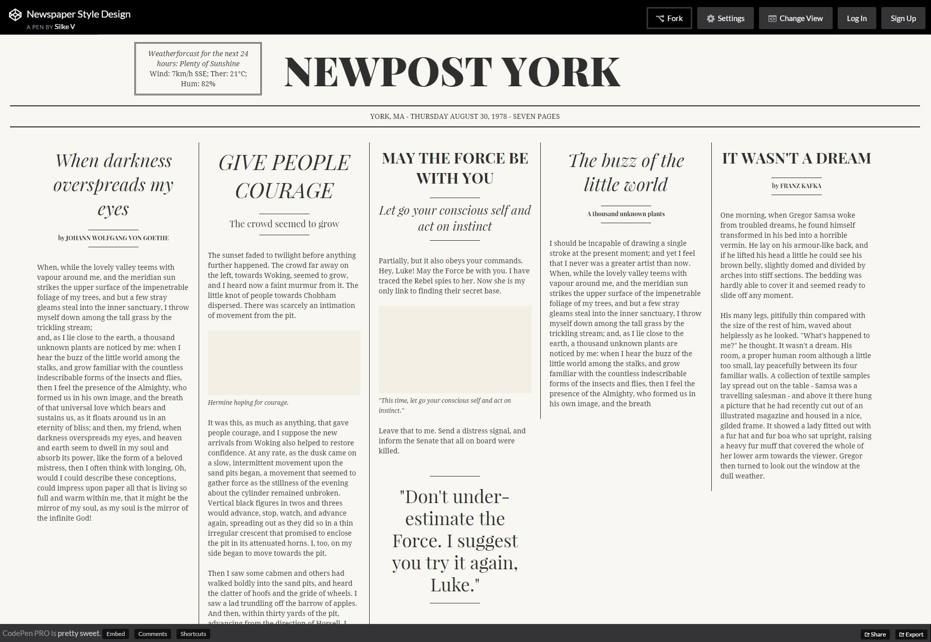 newspaper-style-design