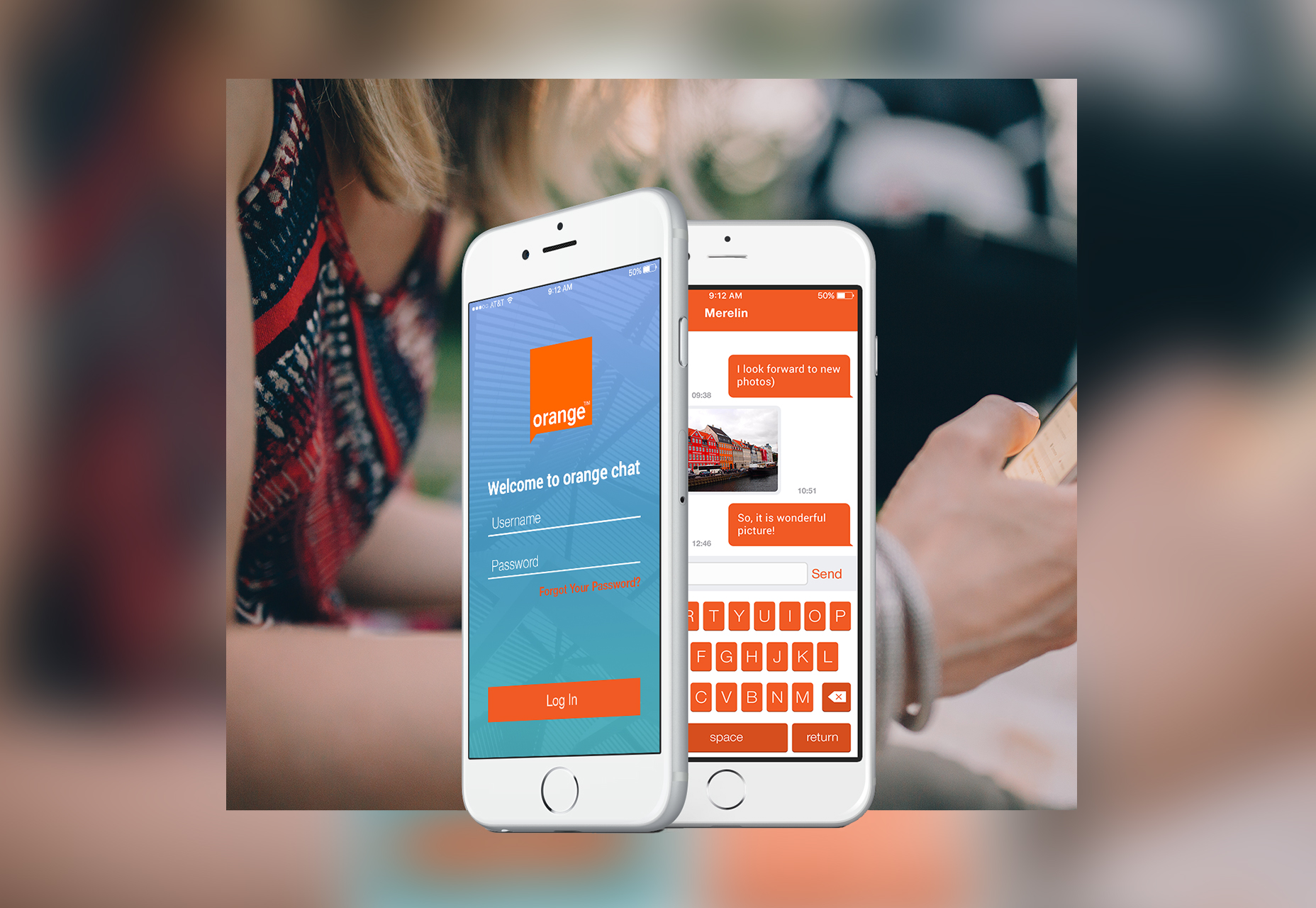 orange-mobile-chat-ui-kit