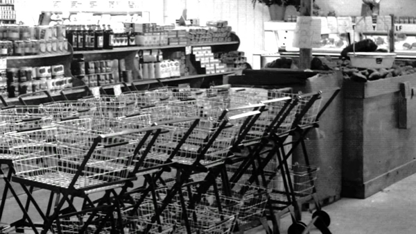 row-of-shopping-carts
