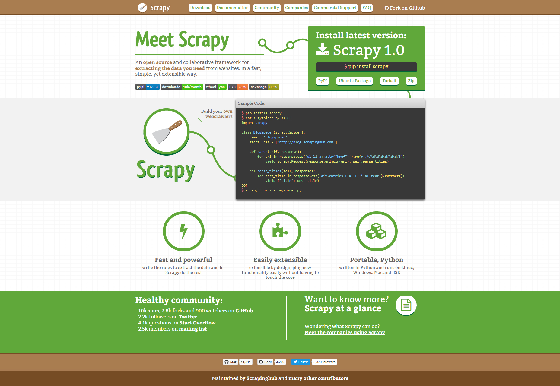 scrapy-powerful-scraping-and-web-crawling-framework