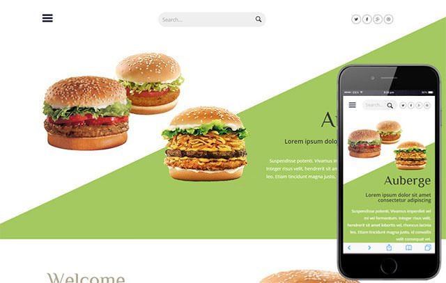 免费使用!20款精致优质的HTML网站模板和小组件下载