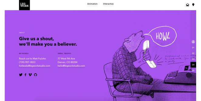个性宣言!40个优秀的关于我们页面网页设计案例(上)
