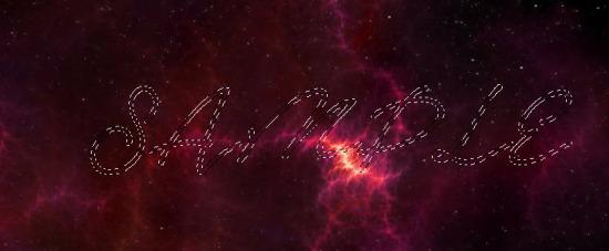 PS教程!手把手教你创建酷炫大气的星空字效