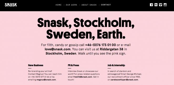 个性宣言!40个优秀的关于我们页面网页设计案例(下)
