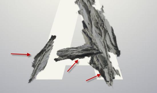 PS新手教程!手把手教你打造嶙峋的岩石字体效果