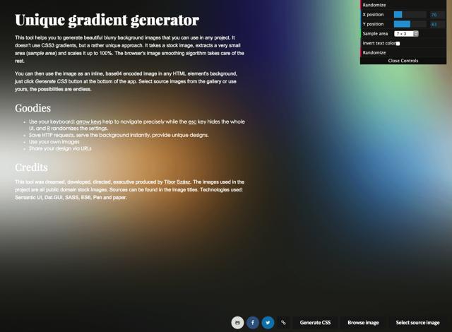 一秒提高格调!帮你快速生成网页毛玻璃背景的酷站(附CSS代码)