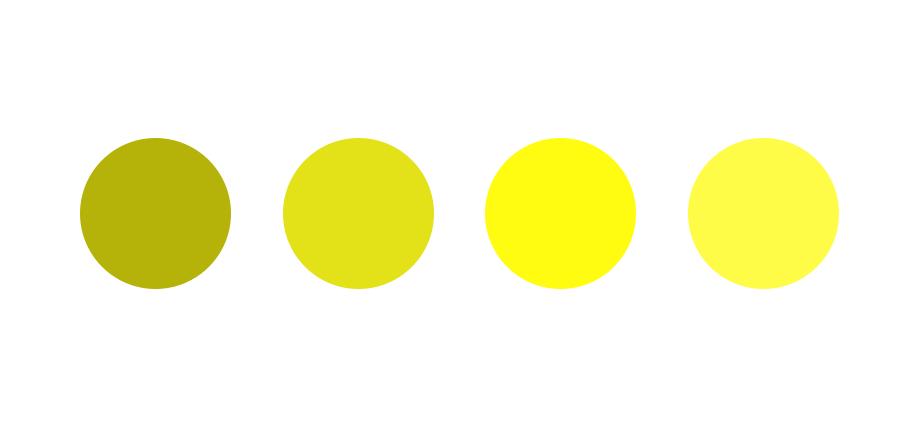 深入浅出学配色!带你重新全面认识色彩系列之黄色篇