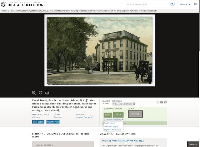 18万馆藏级相片!世界著名的纽约公共图书馆免费在线开放咯
