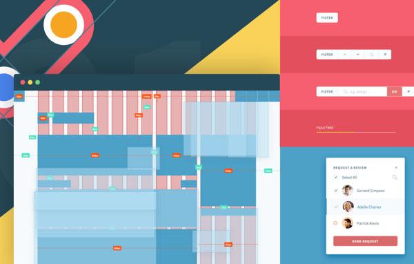 向追波设计师学习!21个超赞的网站UI设计风格指南