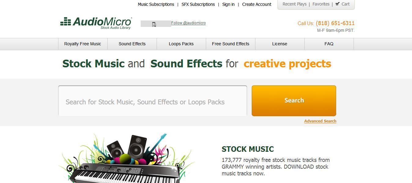 超实用!7个国外免费音效资源网站全集合