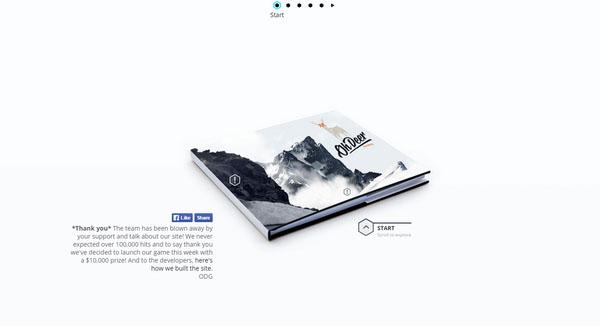 身临其境!那些给人逼真交互体验的优秀网页设计