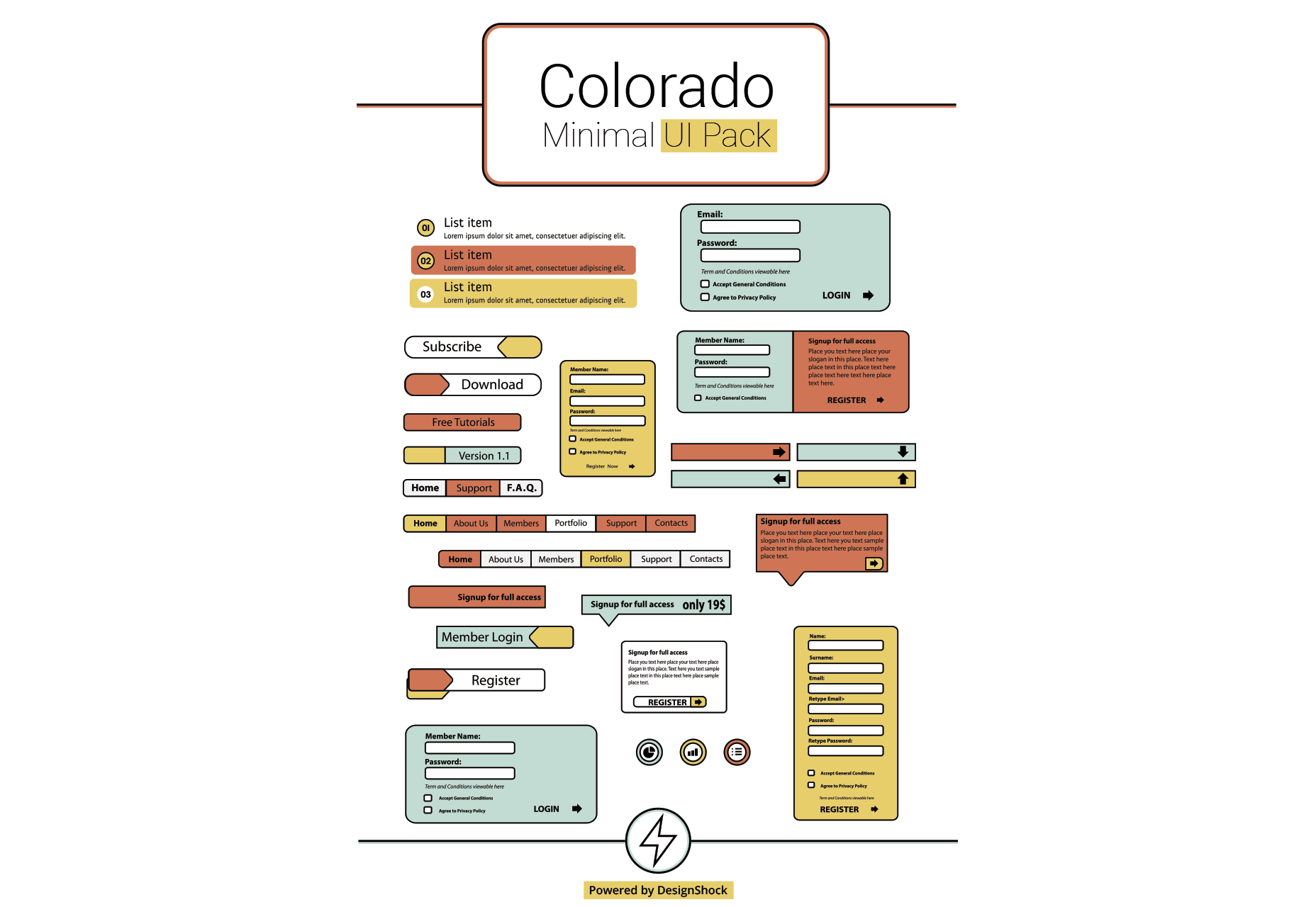 colorado-clean-minimal-ui-pack