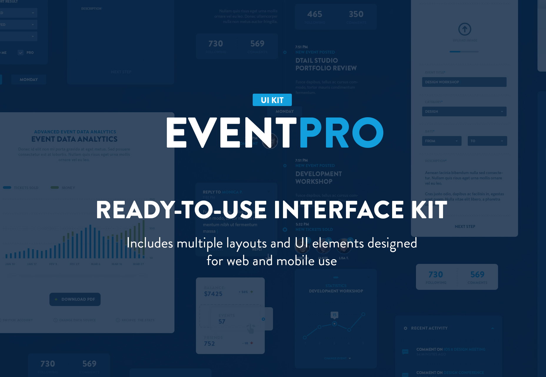 eventpro-modern-blue-ui-kit