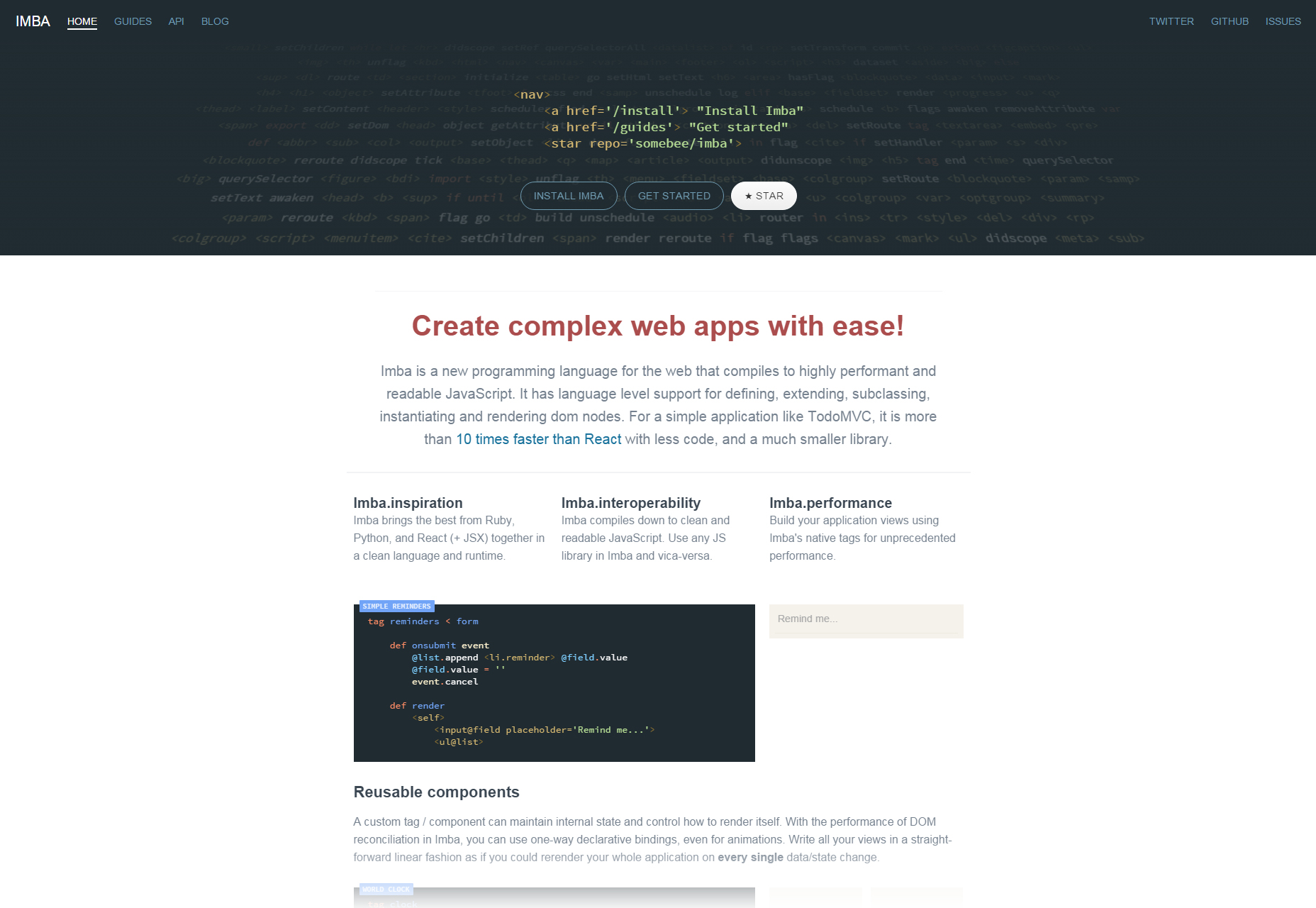 imba-easy-web-applications-language